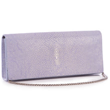 Load image into Gallery viewer, Genuine shagreen clutch bag-Iris