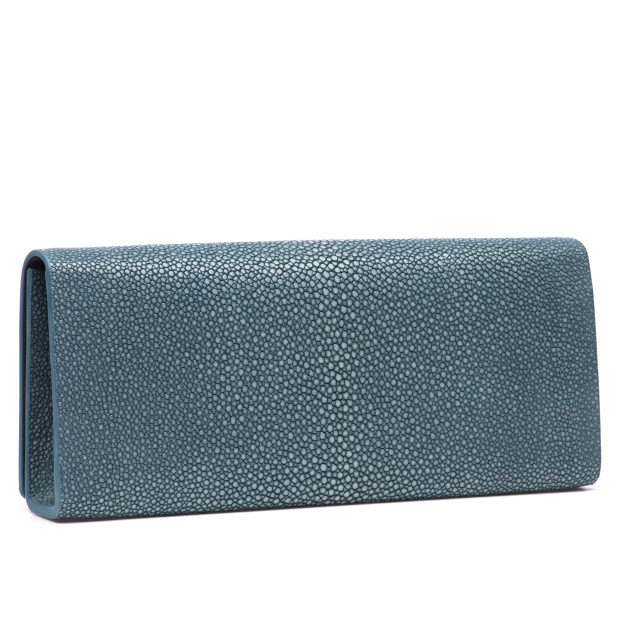 Niagara Shagreen Clutch Bag Back View Cleo - Vivo Direct