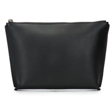 Load image into Gallery viewer, Leather Zip Top Pouch With Tassel-JEN
