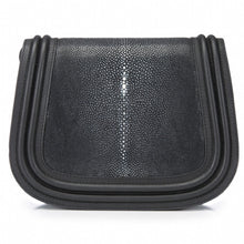 Load image into Gallery viewer, Shagreen Saddle Bag-HAZEL