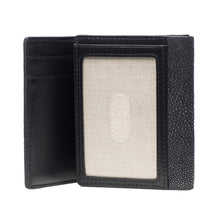 Load image into Gallery viewer, Evan- Men's Tri Fold wallet - Black