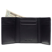 Load image into Gallery viewer, EVAN, shagreen tri-fold wallet