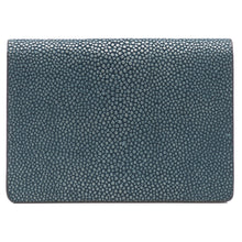 Load image into Gallery viewer, Taylor-Shagreen and Napa leather card case-Niagara