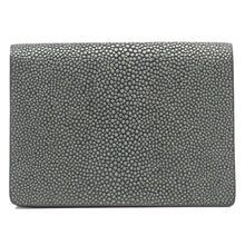 Load image into Gallery viewer, Taylor-Shagreen and Napa leather card case-Gray