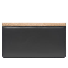 Load image into Gallery viewer, Bea II-Shagreen and Napa leather wallet or clutch-Putty