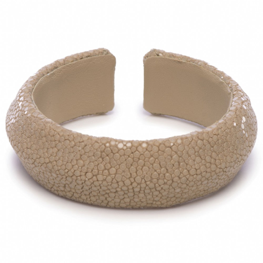 Shagreen Solid Color Cuff