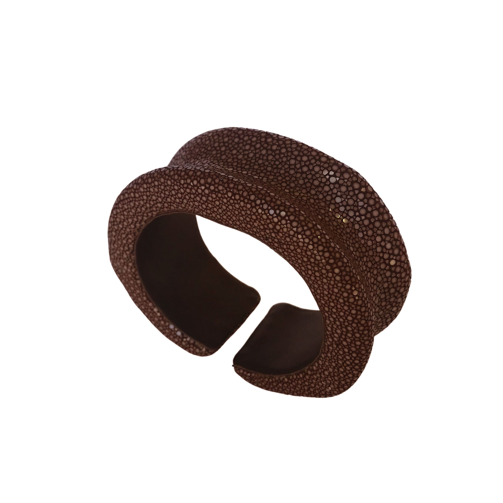 Raised Edge Flexible Bangle
