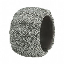 Load image into Gallery viewer, 3 Dimensional Shagreen Cuff - Gray