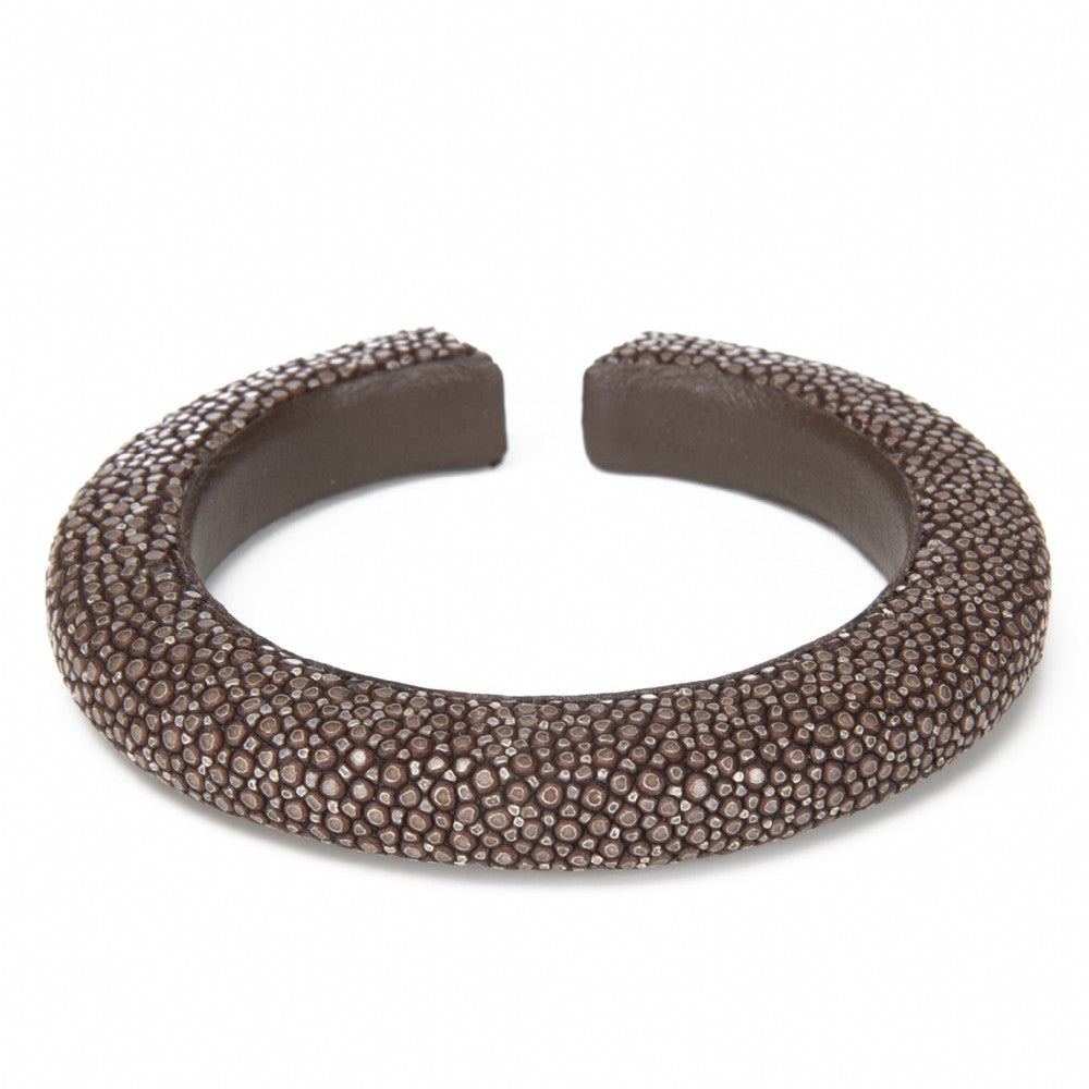 Shagreen Narrow Cuff