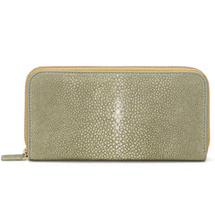 Shagreen Full Zip - Celadon