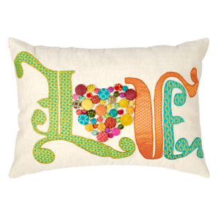 Love Heart Cushion Cover