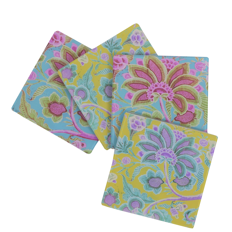 INDIAN SUMMER COASTER (SET OF 4)