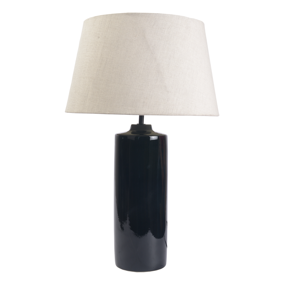 CANNOE BLACK LAMP STAND