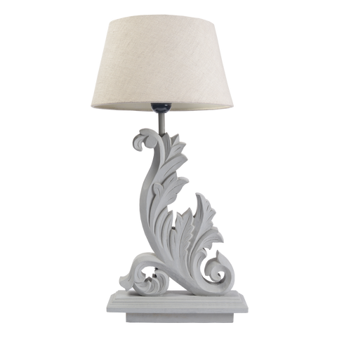 GREY MESSINA LAMP STAND