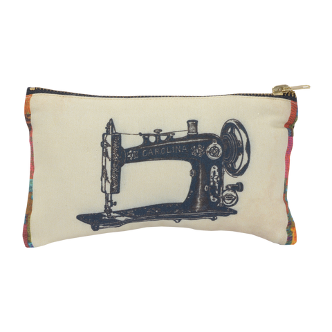VINTAGE SEWING MACHINE POUCH