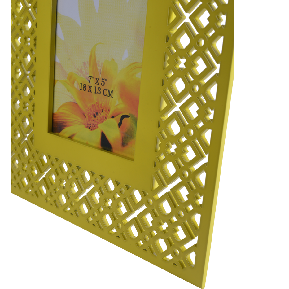 TRELLIS LIME LARGE PHOTOFRAME