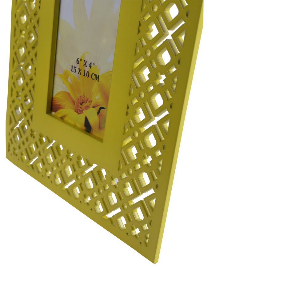 TRELLIS LIME SMALL PHOTOFRAME