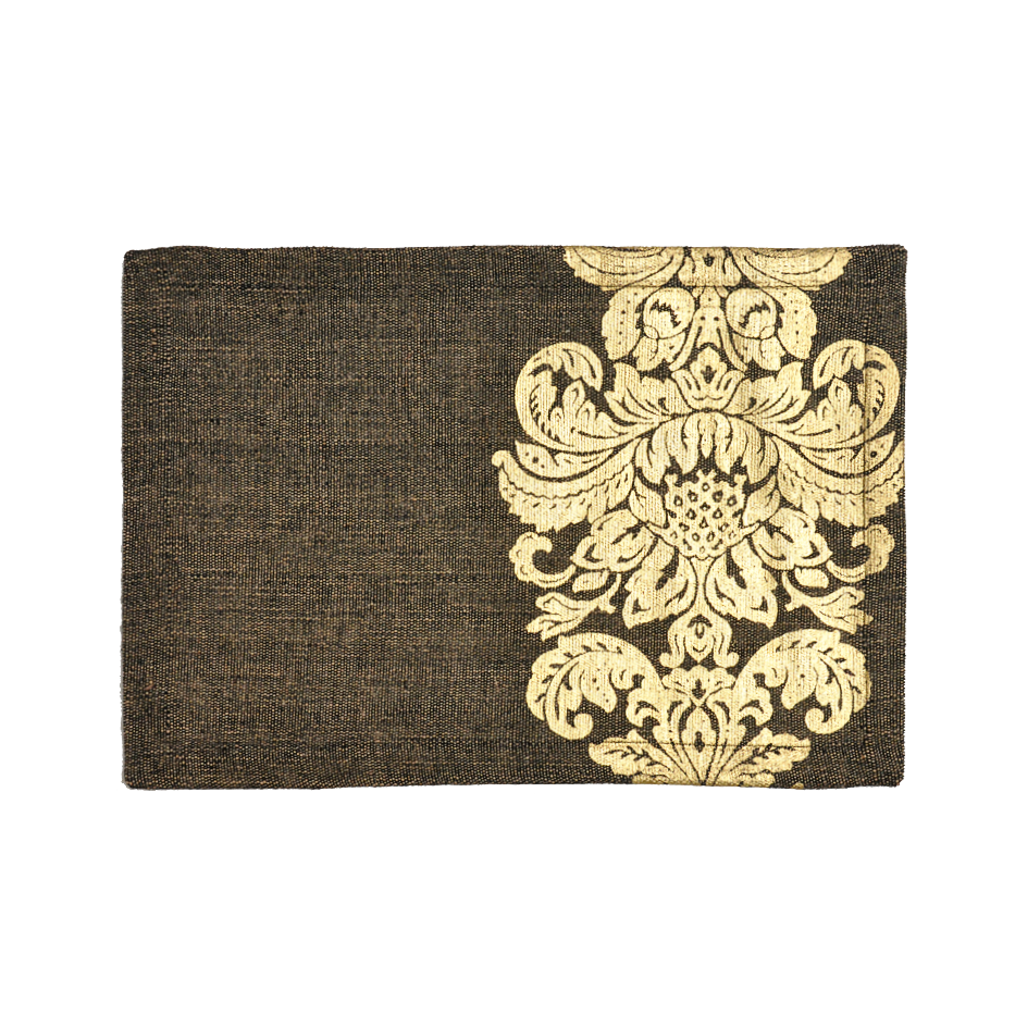 GOLD JASHN TABLE MAT BLACK