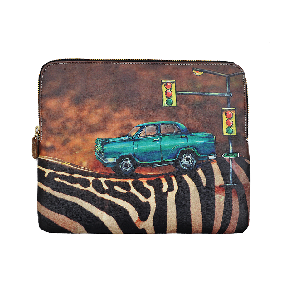 ZEBRA CROSSING IPAD COVER