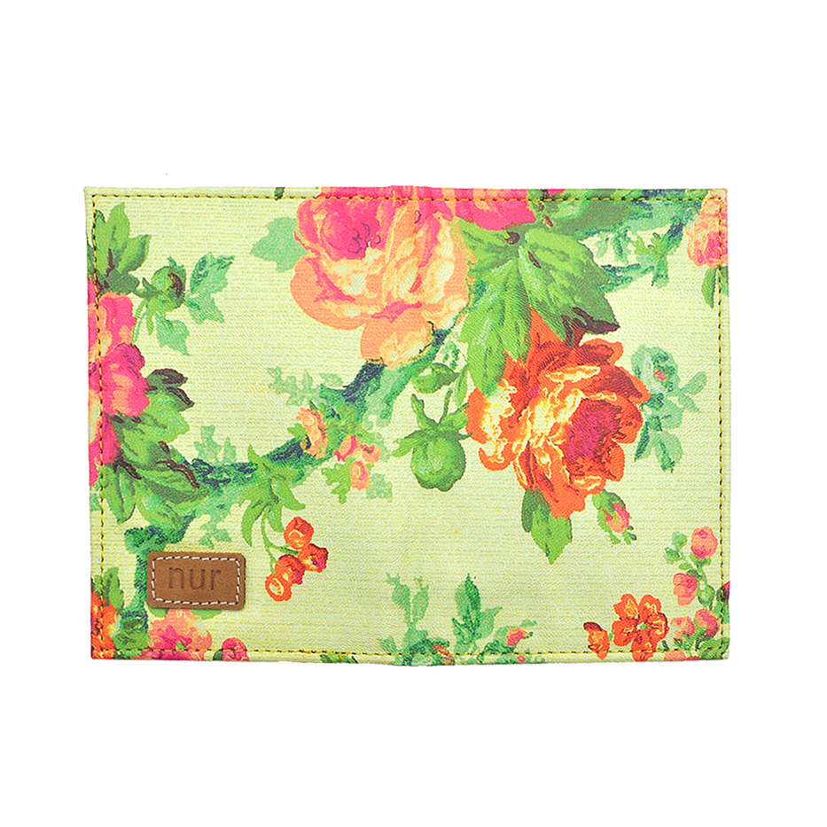 Rose Trellis Passport Holder