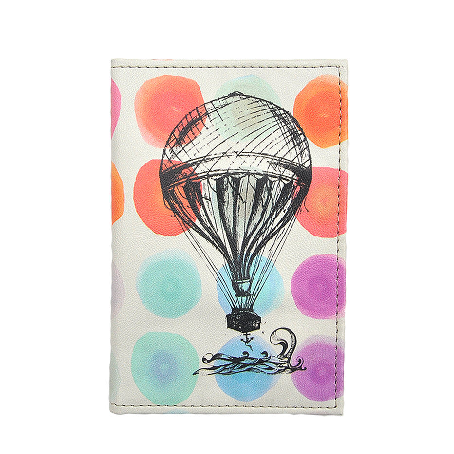 COLOUR SPOTS PASSPORT HOLDER