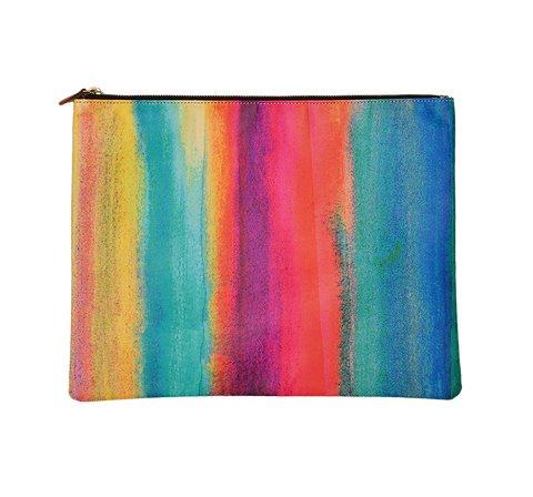PAINT STRIPE POUCH