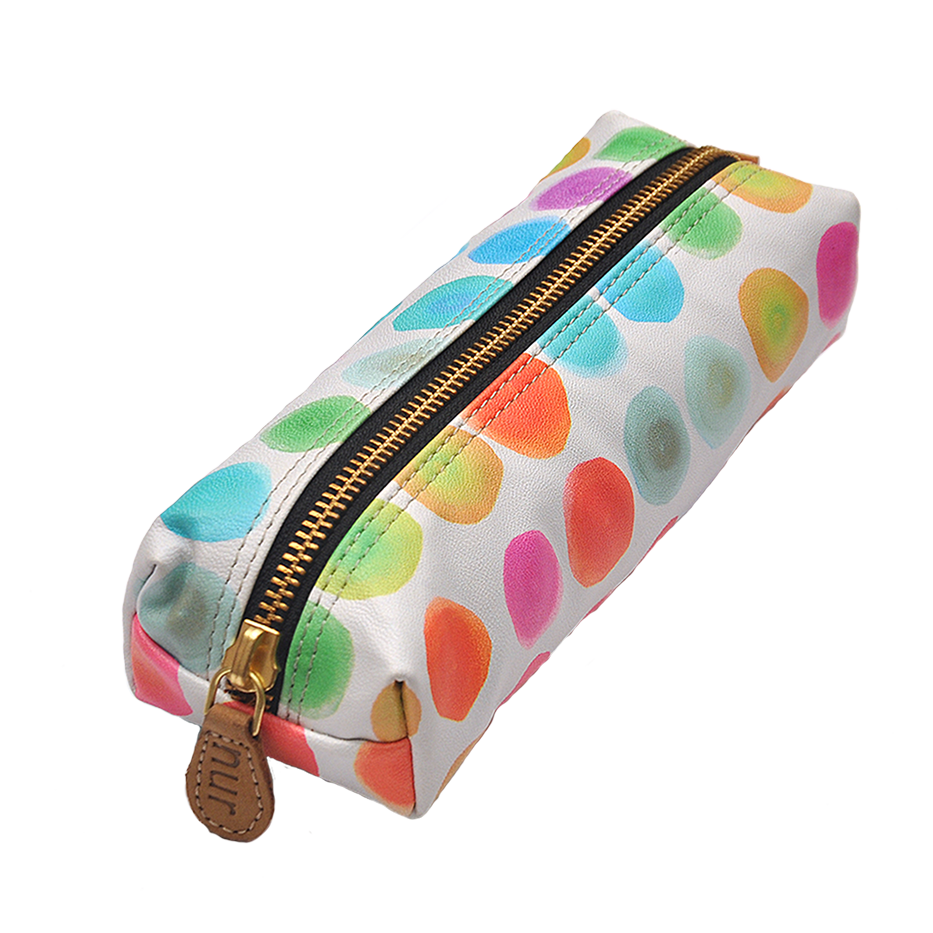 COLOUR SPOTS PENCIL POUCH
