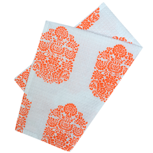 MAJESTIC ORANGE KITCHEN TOWEL