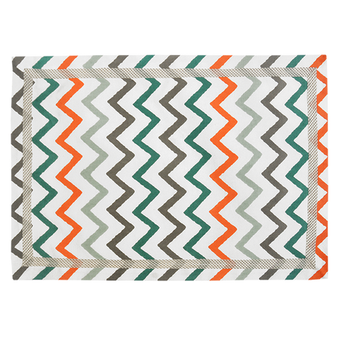 CHEVRON PRINTED MAT