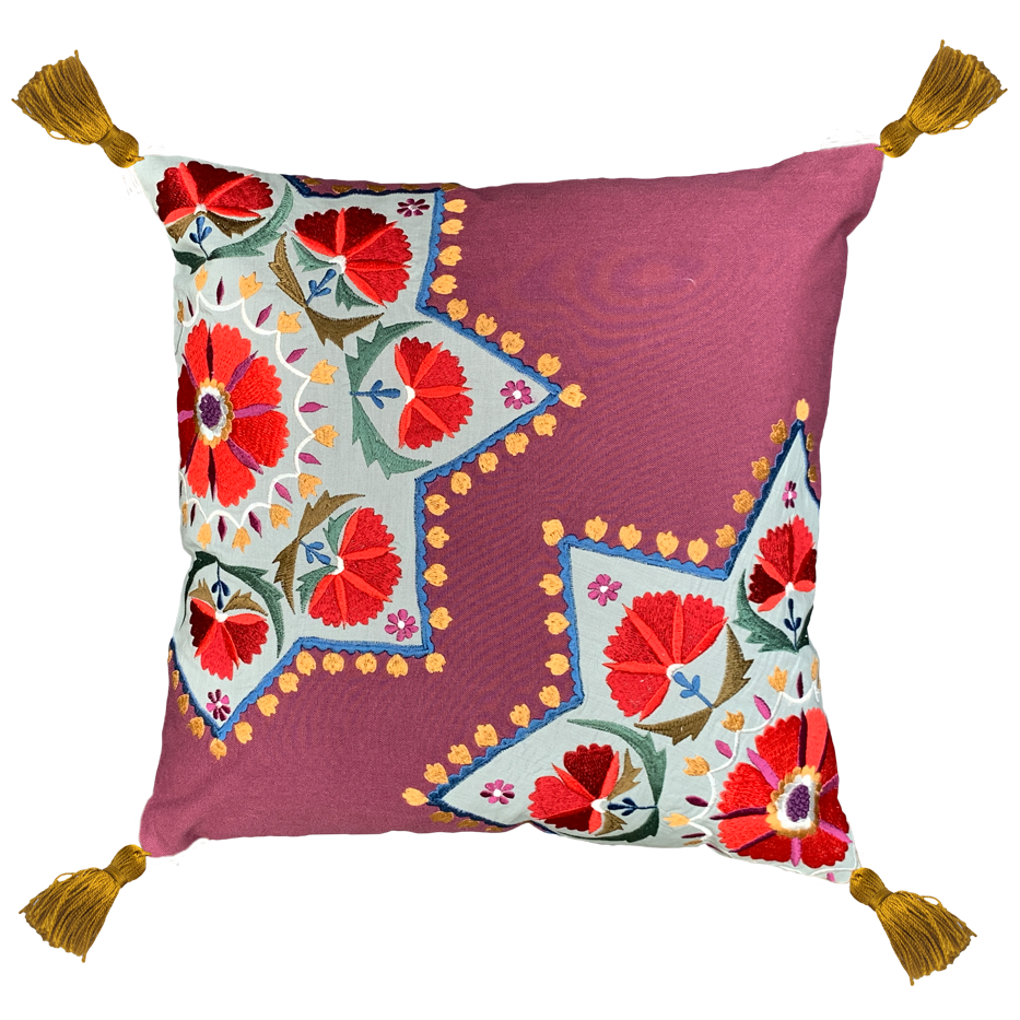 FLOWER MADELLIOON CUSHION COVER