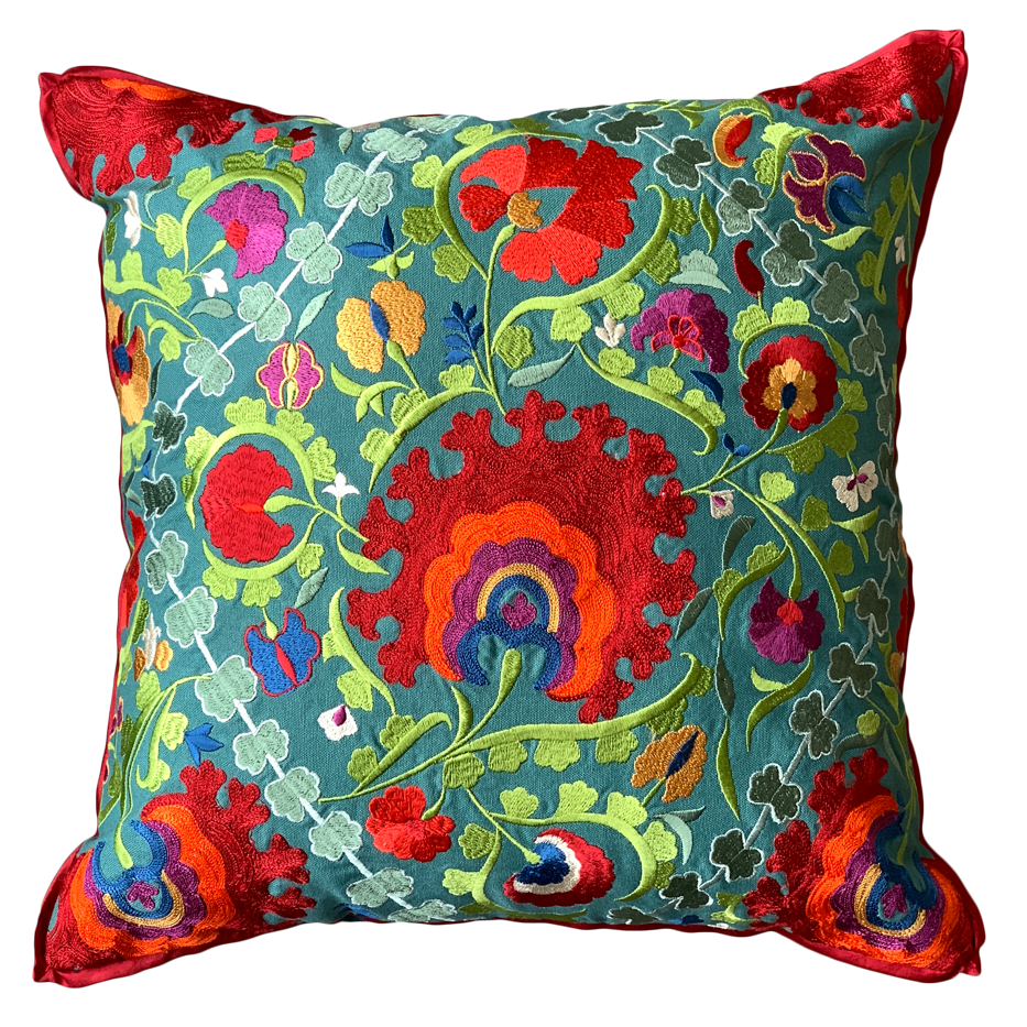 DAZZEL OF RED CUSHION COVER