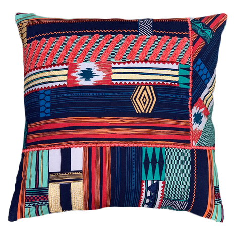 TRIBAL GEO CUSHION COVER