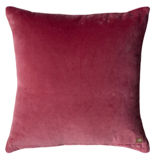 FRAME CUSHION COVER PLUM