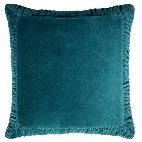 FRAME CUSHION TEAL