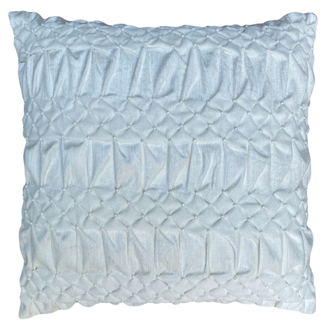 WHITE SMOKING STRIPE CUSHION