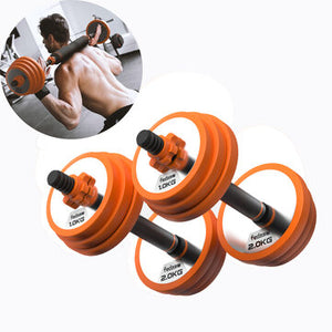 Open image in slideshow, FED FED-XM8009 Pure Steel Home Dumbbell Barbell Horizontal Bar Multifunctional Indoor Sports Fitness Equipment