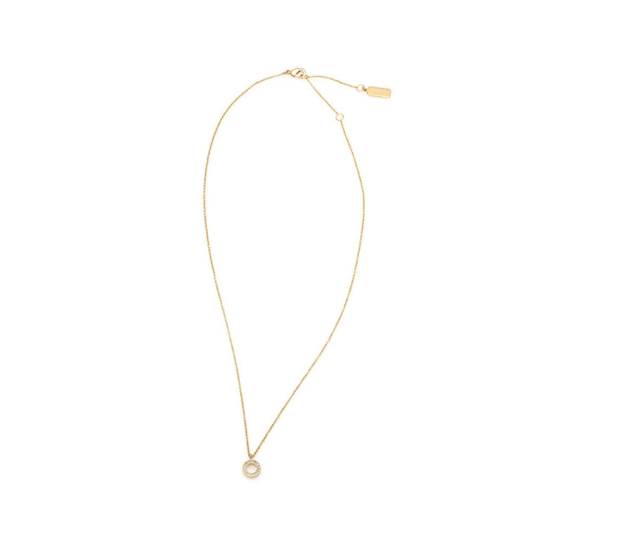 O Necklace - Gold