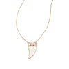 Hendrix Necklace - Gold/Moonstone