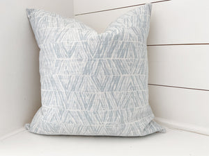 Blue Diamonds Pillow Cover