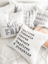 Load image into Gallery viewer, Hello Fall Pillow Cover