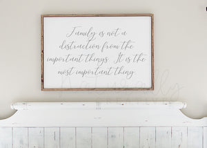 Family Is The Most Important Thing - SVG and Digital Files