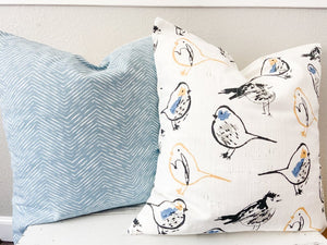 Aviary Pillow Cover