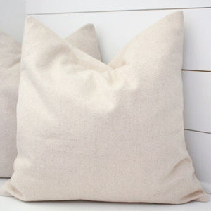 Simple Grain Sack Pillow Cover