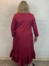 Load image into Gallery viewer, Pauline Dress - Ruby