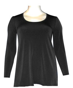 Classic Long Sleeve Top - Black