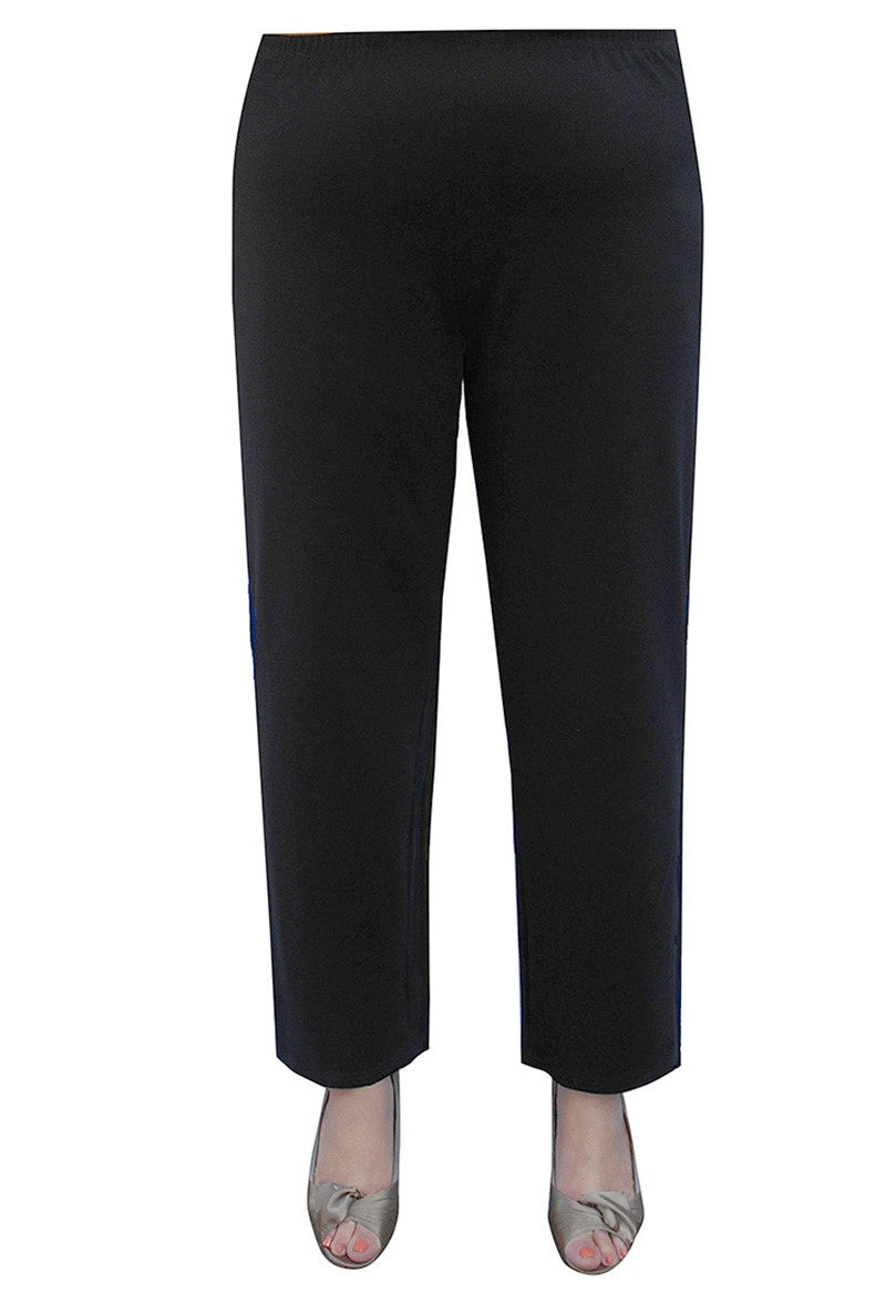 Thick Ponti Pants - Black