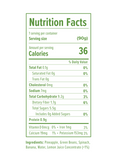 Spinach, Green Beans, Banana & Pineapple. Pure baby food with aloha from Hawaii nutrition facts.