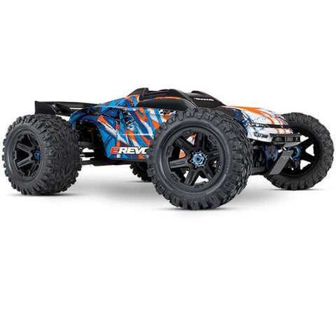 TRAXXAS E-REVO 2.0 VXL 6S 1/10 BRUSHLESS, ORANGE