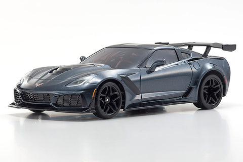 Kyosho MR-03 Mini-Z RWD ReadySet w/Corvette ZR1 Body (Gray Metallic) & KT-531P 2.4GHz Transmitter
