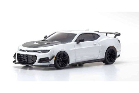 Kyosho MR-03 Mini-Z RWD ReadySet w/ Camaro ZL1 (White) & KT-531P 2.4GHz Transmitter
